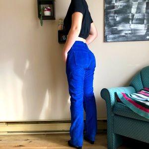 Men's Levi's 514 Corduroy Trousers NWOT Royal Blue
